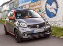 Фото авто Smart Forfour 2 поколение, ракурс: 315 цвет: серый