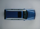 Фото авто Mercedes-Benz E-Класс W210/S210, ракурс: сверху цвет: синий