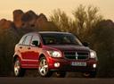Фото авто Dodge Caliber 1 поколение, ракурс: 315 цвет: красный