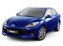 Фото авто Mazda 3 BL [рестайлинг], ракурс: 45 - рендер цвет: синий