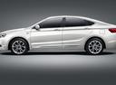 Фото авто Geely Emgrand GT 1 поколение, ракурс: 90 цвет: белый