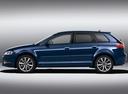 Фото авто Audi A3 8P/8PA [2-й рестайлинг], ракурс: 90 цвет: синий