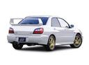 Фото авто Subaru Impreza 2 поколение, ракурс: 225 цвет: белый