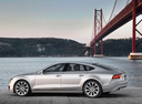 Фото авто Audi A7 4G, ракурс: 90 цвет: серый