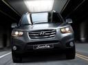 Фото авто Hyundai Santa Fe CM [рестайлинг],  цвет: серебряный