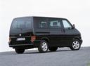 Фото авто Volkswagen Caravelle T4, ракурс: 225 цвет: черный