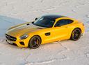 Фото авто Mercedes-Benz AMG GT C190, ракурс: 45 цвет: желтый