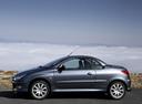 Фото авто Peugeot 206 1 поколение [рестайлинг], ракурс: 90 цвет: мокрый асфальт