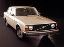 Фото авто Volvo 240 1 поколение, ракурс: 315 цвет: бежевый