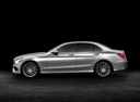 Фото авто Mercedes-Benz C-Класс W205/S205/C205, ракурс: 90 цвет: серебряный