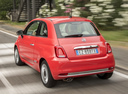 Фото авто Fiat 500 2 поколение [рестайлинг], ракурс: 135 цвет: красный