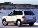 Фото авто Hyundai Santa Fe SM, ракурс: 135 цвет: серебряный