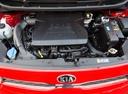 Фото авто Kia Picanto 3 поколение, ракурс: двигатель цвет: красный