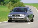 Фото авто Audi A4 B6, ракурс: 45 цвет: серебряный