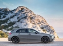 Фото авто Mercedes-Benz A-Класс W177/V177, ракурс: 270 цвет: серый