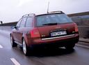 Фото авто Audi A6 4B/C5, ракурс: 180 цвет: вишневый