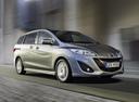 Фото авто Mazda 5 CW, ракурс: 315 цвет: серебряный