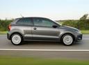 Фото авто Volkswagen Polo 5 поколение, ракурс: 270 цвет: серый