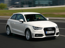 Фото авто Audi A1 8X, ракурс: 315 цвет: белый