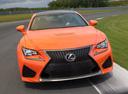 Фото авто Lexus RC 1 поколение,  цвет: оранжевый