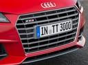 Фото авто Audi TT 8S, ракурс: передняя часть цвет: красный