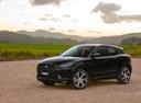 Фото авто Jaguar E-Pace 1 поколение, ракурс: 45 цвет: черный