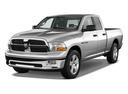 Фото авто Dodge Ram 4 поколение, ракурс: 45 цвет: серебряный