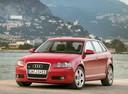 Фото авто Audi A3 8P/8PA [рестайлинг], ракурс: 45 цвет: красный