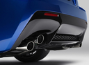 Фото авто Lexus RC 1 поколение, ракурс: задняя часть цвет: синий