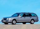 Фото авто Mercedes-Benz E-Класс W210/S210, ракурс: 45 цвет: серебряный