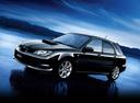 Фото авто Subaru Impreza 2 поколение [2-й рестайлинг], ракурс: 45 цвет: черный