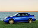 Фото авто Subaru Impreza 2 поколение, ракурс: 90 цвет: синий