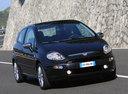 Фото авто Fiat Punto 3 поколение [рестайлинг], ракурс: 315 цвет: черный