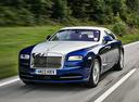 Фото авто Rolls-Royce Wraith 2 поколение, ракурс: 45 цвет: голубой
