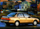Фото авто Toyota Corolla E100, ракурс: 225 цвет: бежевый