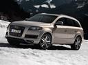 Фото авто Audi Q7 4L [рестайлинг], ракурс: 45 цвет: бежевый