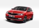 Фото авто Skoda Rapid 3 поколение [рестайлинг], ракурс: 45 - рендер цвет: красный