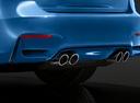 Фото авто BMW M3 F80, ракурс: задняя часть