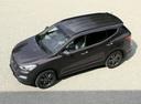 Фото авто Hyundai Santa Fe DM, ракурс: сверху цвет: коричневый