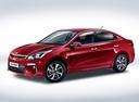 Фото авто Kia Rio 4 поколение, ракурс: 45 - рендер цвет: бордовый