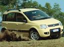Фото авто Fiat Panda 2 поколение, ракурс: 315 цвет: желтый