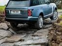Фото авто Land Rover Range Rover 4 поколение [рестайлинг], ракурс: 225 цвет: голубой