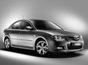 Фото авто Mazda 3 BK [рестайлинг], ракурс: 315 цвет: серый