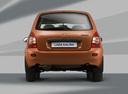 Фото авто ВАЗ (Lada) Kalina 1 поколение, ракурс: 180 цвет: оранжевый