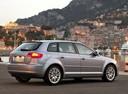 Фото авто Audi A3 8P/8PA [рестайлинг], ракурс: 225 цвет: серебряный