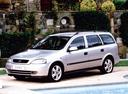 Фото авто Opel Astra G, ракурс: 45 цвет: серебряный