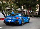 Фото авто Ferrari F12berlinetta 1 поколение, ракурс: 225 цвет: синий