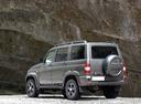 Фото авто УАЗ Patriot 1 поколение [рестайлинг], ракурс: 135 цвет: серый
