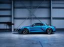 Фото авто Alpine A110 2 поколение, ракурс: 90 цвет: голубой