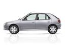 Фото авто Peugeot 306 1 поколение [рестайлинг], ракурс: 90 цвет: серый